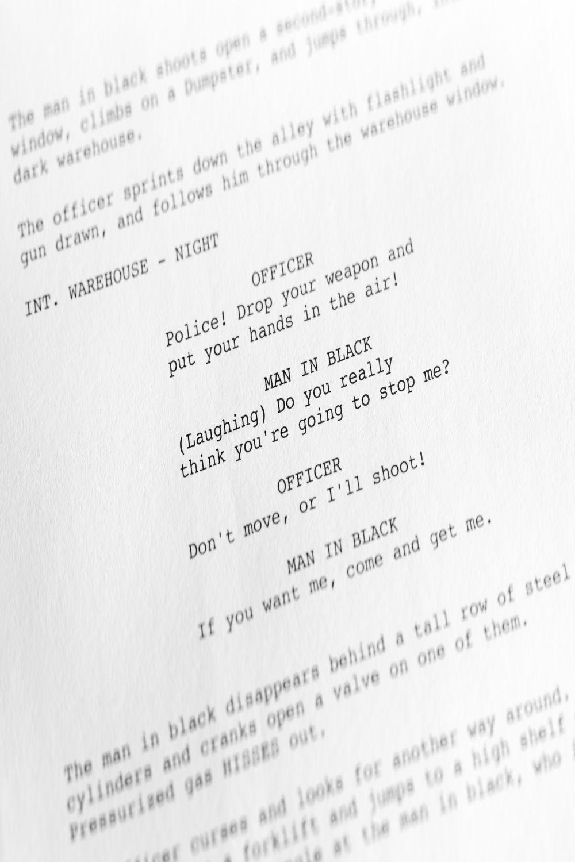 screenplays ece